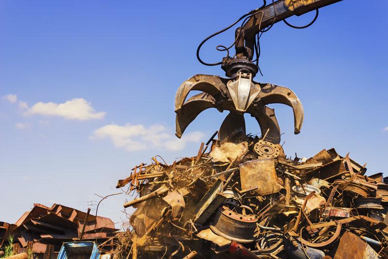 Reciclagem de metal